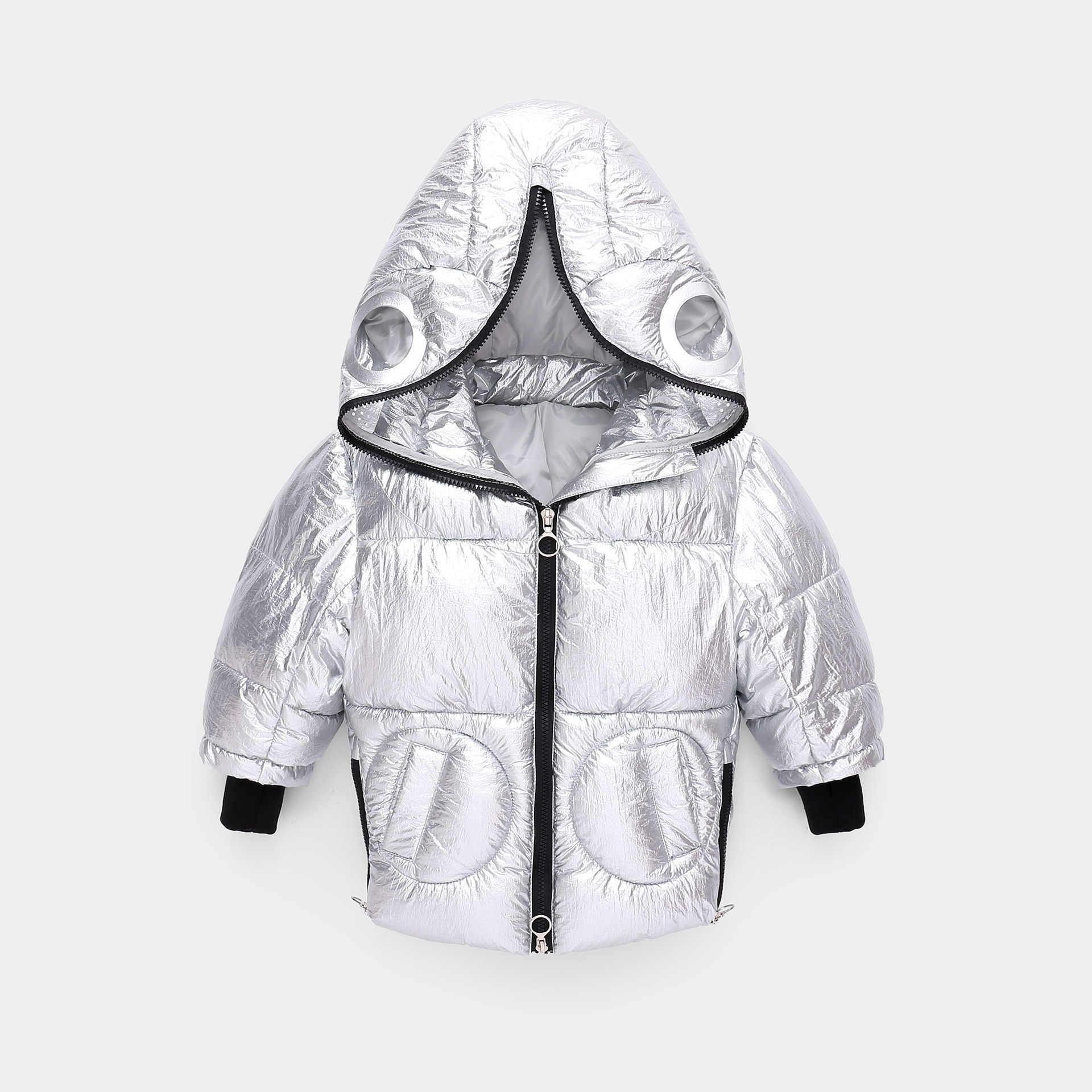 Çocuk kış ceket erkek karikatür canavar ceket bebek giysileri çocuklar parka yürümeye başlayan pamuk-yastıklı sıcak ceket kız kar takım elbise