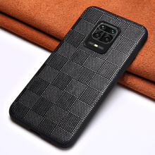 Genuine Lambskin Leather Phone Case for Redmi Note 9 Pro 9S