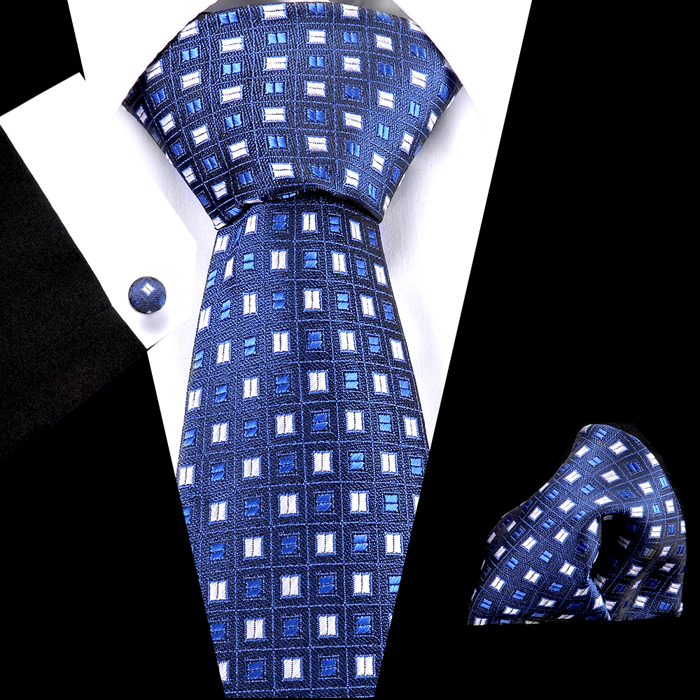 Wedding 45 Style Men Skinny Necktie Polyester Blue Dot Stripe Fashion Mens Business Bowtie Shirt Accessories Gifts For Mens