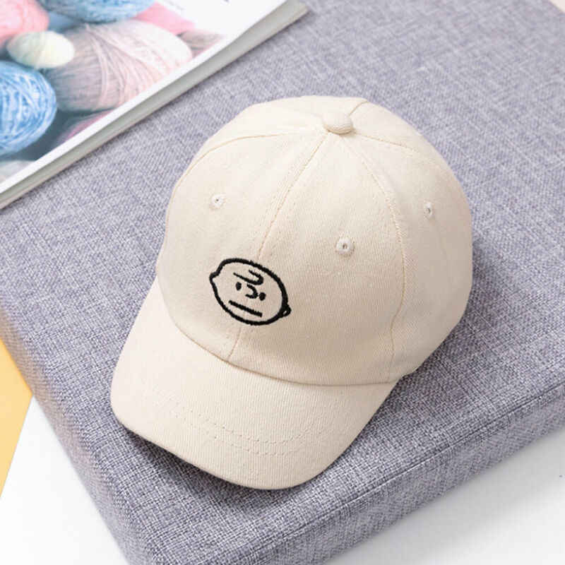 Baby Boys Girls Baseball Beret Kids Cap Children Toddler Infant Hat Peaked Hats snoopy boy print embroidery boys summer hats