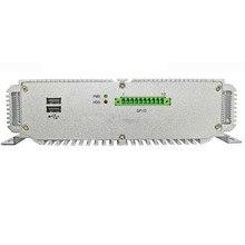 軍事品質ファンレスミニpc 4 グラムram 64 グラムインテルceleron J1900 クアッドコアプロセッサ実行 10 ミニ産業用pc