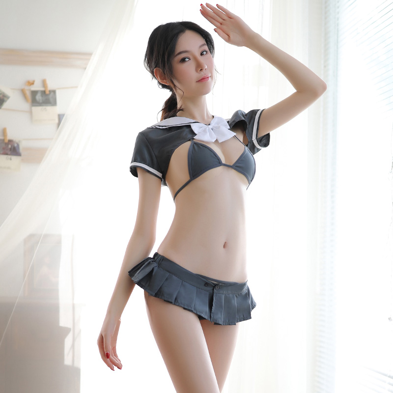 Sexy Cosplay Role Play Student Uniform Body Dress Sexy Skirt Erotic Costumes Lingerie With Underwear Adult Sex Products