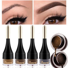 4 Color Waterproof Eyebrow Cream Enhancers Air-cushion Dye Long Lasting Eye Brows Gel Brown Liquid Eyebrows Tint Makeup Cosmetic
