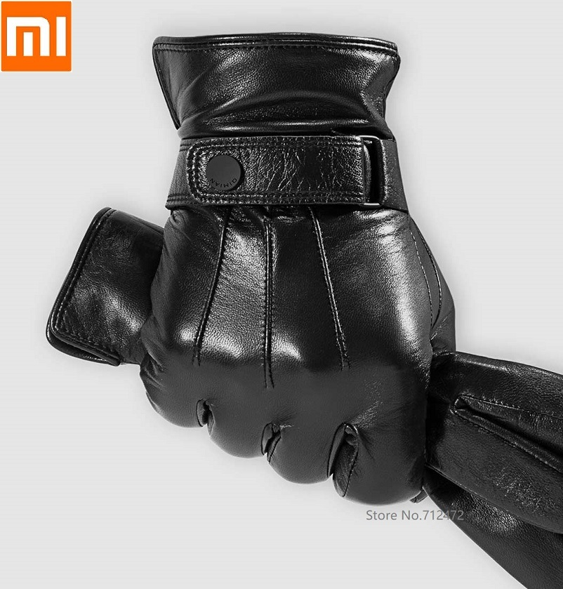 Xiaomi Qimian Winter Sheepskin Touchscreen Gloves (AllTouch) Keep Warm Full Palm Touch Soft Warm Driving Touch Screen Gloves