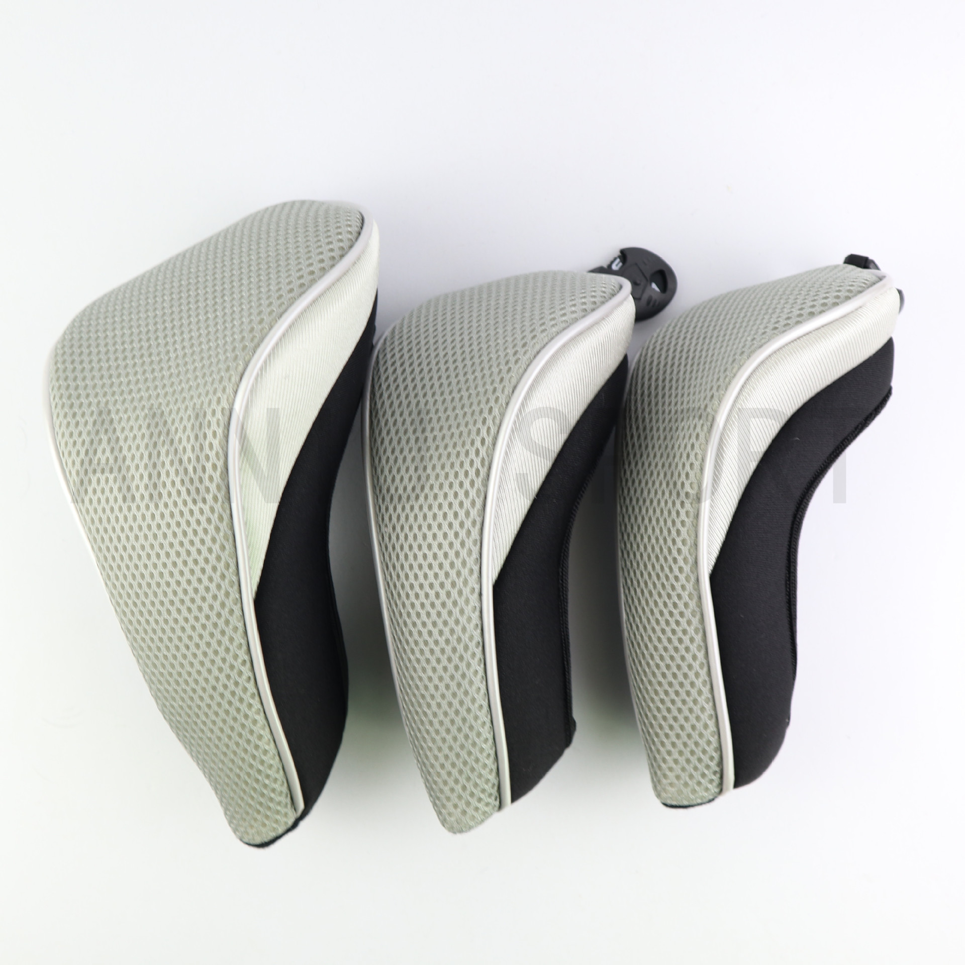 Manufacturers Direct Selling Cross Border Electricity Supplier Golf Club Sleeve Head Covers Protective Case Mesh 135 Three Bottl