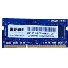 4GB 1Rx8 PC3L-12800S RAM 8G DDR3 1600MHz 8GB PC3L 12800 Notebook memoria para IBM Lenovo ThinkPad T440p T440 L450 L440 portátil
