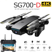Drone Sg700d 4k Drone Hd dual camera Wifi Transmission Fpv optical speed size St