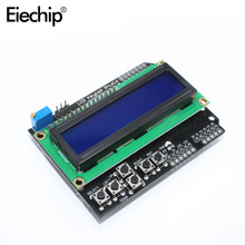LCD Tastatur Schild LCD1602 LCD Modul Display Für arduino ATMEGA328 ATMEGA2560 Für Raspberry pi 1602 Blau Screen Display Board(China)