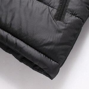 Image 4 - SingleRoad Winter Vest Men 2019 Camouflage Bodywarmer Sleeveless Jacket Male Ultralight Warm Black Mens Cotton Coat Windproof
