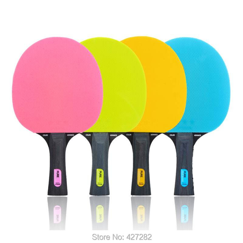 Original Stiga PURE Table Tennis Rackets Colorful Table Tennis Rackets  New Player Finished Rackets Racquet Sports Stiga Rackets