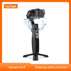 hohem iSteady Pro 3 3-Axis Gimbal Stabilizer for GoPro Hero 8/7/6/5/4, Gimbal for DJI Osmo & Action Action Camera