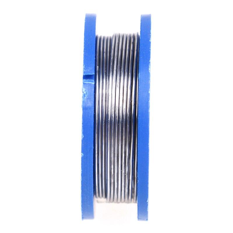1pcs 0.8mm Solder Wire Reel Rosin Core Solder Soldering Welding Iron Wire Reel Welding Practice Flux