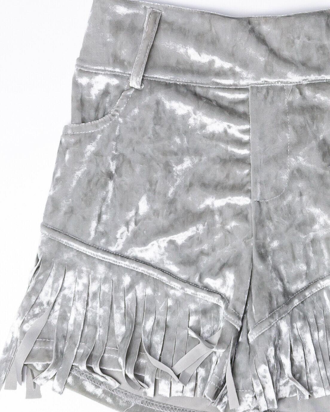 Women's  Fringe Shorts Anti-Bacterial  Bamboo Fiber  Milk Fiber