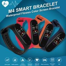 Smart Watch Men M band 4 smart wristband Heart Rate Blood Pressure Health Smartw