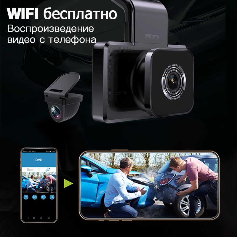 JADO D330 Автомобильный видеорегистратор камера видеорегистратор wifi скорость N gps координаты 1080P HD ночного видения камера 24H монитор парковки