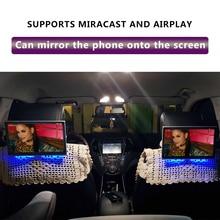 11,6 дюймовый Android 9,0 автомобильный монитор на подголовник 1920*1080 4K 1080P сенсорный экран wifi/Bluetooth/USB/SD/HDMI/FM/Mirroring/Miracast/MP5
