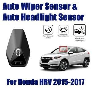 Умный автомобильный помощник для Honda HRV, автоматический датчик стеклоочистителя от дождя и датчики фар, Vezel 2015 ~ 2019