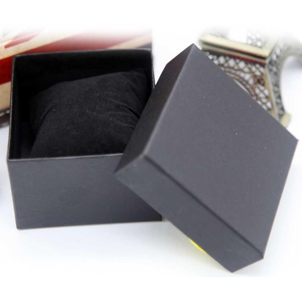 موضة دائم هدية علبة هدية لسوار الإسورة مجوهرات صندوق ساعة يد فاخر بالجملة تخزين المنزل