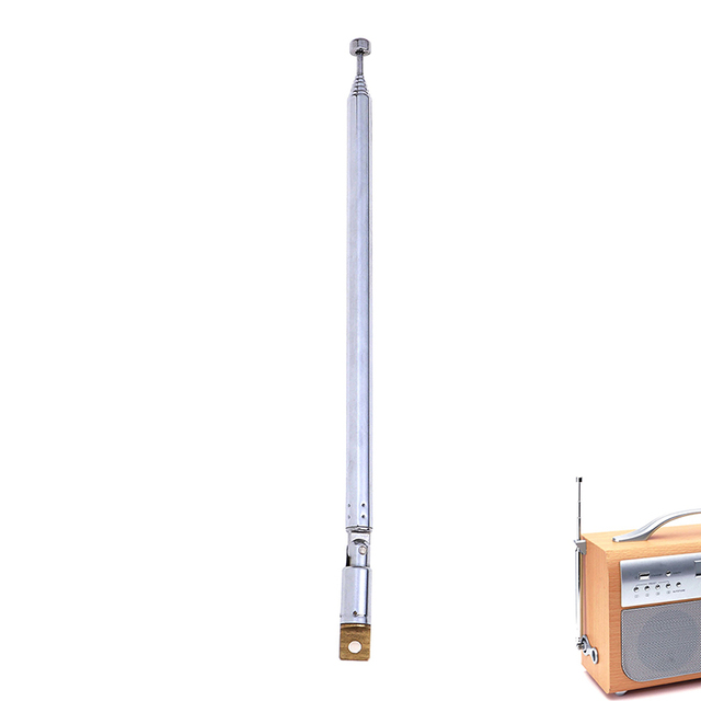 Replacement 765mm 7 Sections TV Antenna Telescopic Antenna Aerial for Radio TV