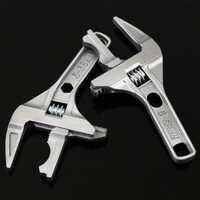Chave de tubulação universal mintiml ajustável bacia wastafel chave inglesa encanador ferramentas multi torneiras ferramenta moersleutel