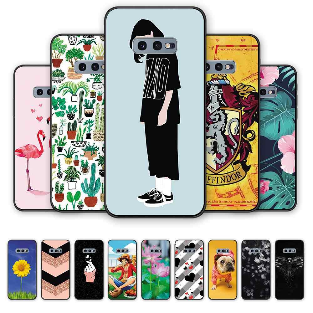 Funny Wallpaper Cover Silicone Tpu Phone Case For Samsung S10e C9pro Cute Leaves Flower Soft Back Phone Case For Galaxya9 S6edge Aliexpress