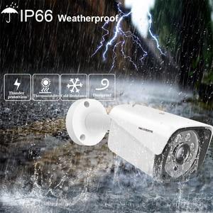 Image 4 - חדש ב 2020 פנים שיא H.265 + 8CH POE NVR ערכת 5MP POE חיצוני מצלמה טלוויזיה במעגל סגור מצלמה מערכת אבטחת בית וידאו מעקב סט