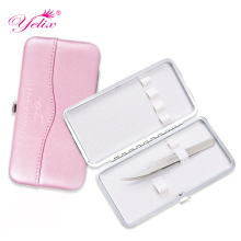 Makeup Eyelashes tweezer Tools Bag EyeLash Extension Tweezers Case Cosmetic Tool Storage Box For tweezer kit Wholesale OEM