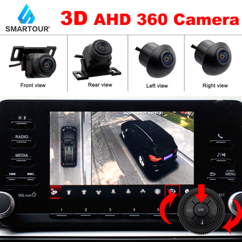 New Bird View 360 Car Bird View System Rear View Camera 1080P 3D AHD Night Vision Front View Camera Surround View Car DVR 1080p ahd fisheye starlight car rear view camera night vision reverse camera forsubaru outback impreza forester
