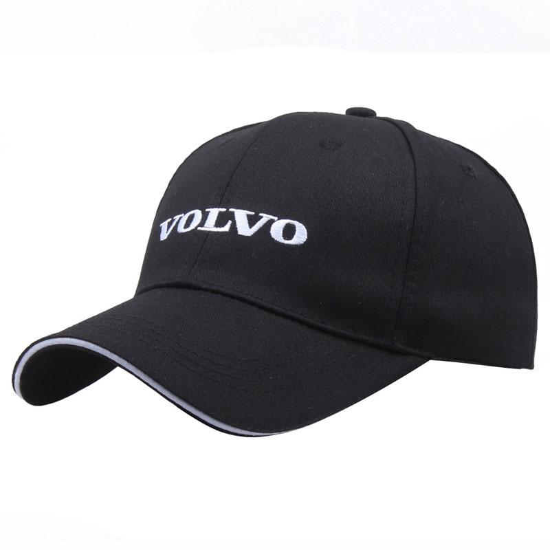 New Volvo Embroidered Alphabet Baseball Cap Fashion Hip Hop Peak Caps Men And Women Outdoor Universal Hat Trucker Hats