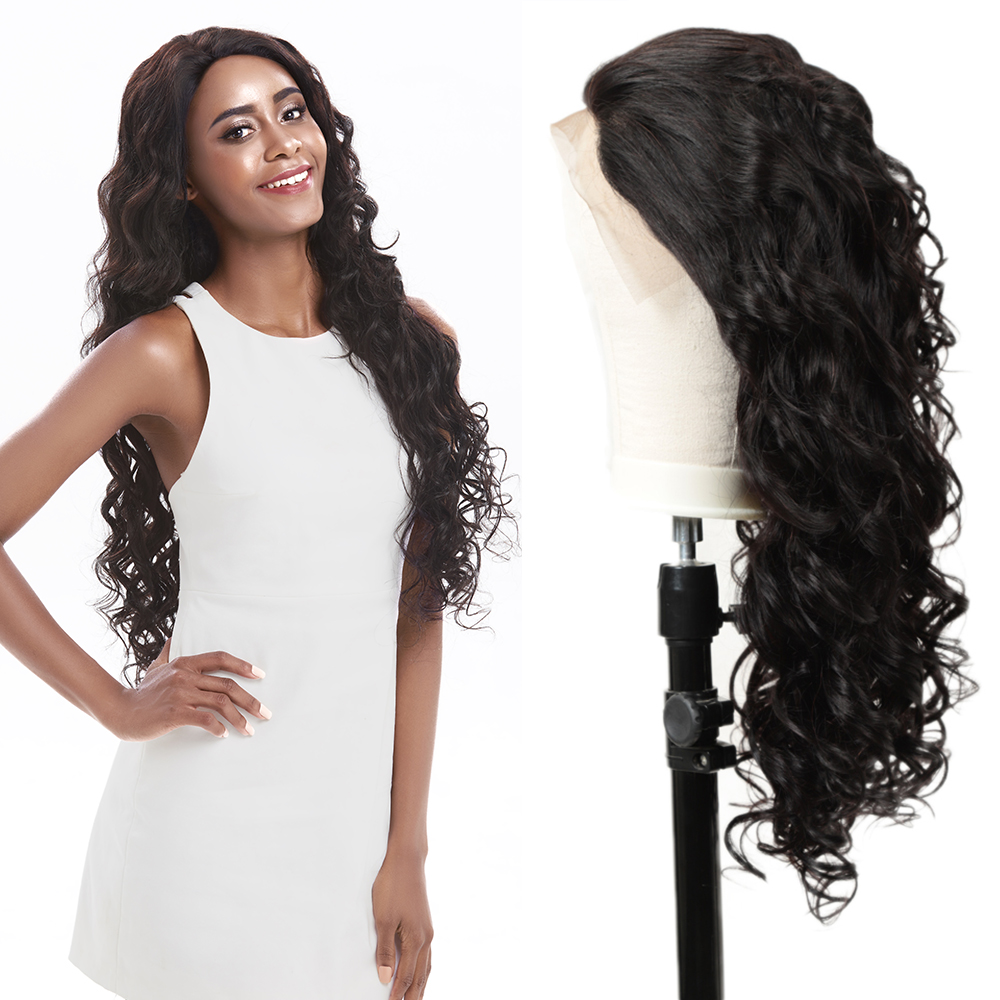 Joedir Hair 13*4 Brazilian Loose Wave Wig Brazilian Lace Front Wigs Human Lace Front Wigs For Black Women Lace Wig Humain Hair