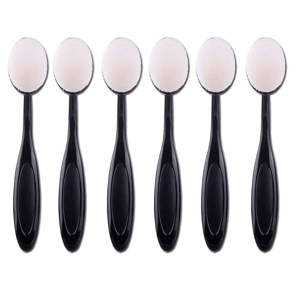 3/6/9 stücke Make-Up Pinsel Set Zahnbürste Oval Nylon Haar Für Handwerk Ink Blending Pinsel Gesicht Foundation Blending Pinsel make-up-Tool