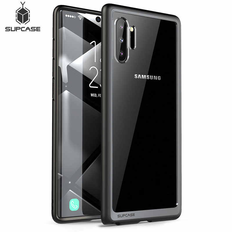 SUPCASE For Samsung Galaxy Note 10 Case (2019 Release) UB Style Premium Hybrid TPU Bumper Protective Clear PC Back Case Cover