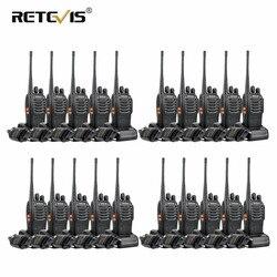 20 шт Retevis H777 портативная рация портативная Hf приемопередатчик для отеля/ресторана двухсторонняя радиостанция