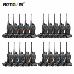20pcs Retevis H777 Portable Walkie Talkie Handheld Hf Transceiver Hotel/Restaurant Two Way Radio Communicator Ham Radio Station