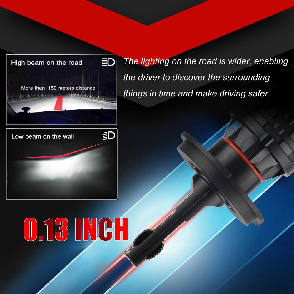 BraveWay światła samochodowe LED H7 16000LM H11 lampa LED do żarówki reflektorów samochodowych H4 H1 H8 H9 9005 9006 HB3 HB4 Turbo H7 żarówki LED 12V 24V