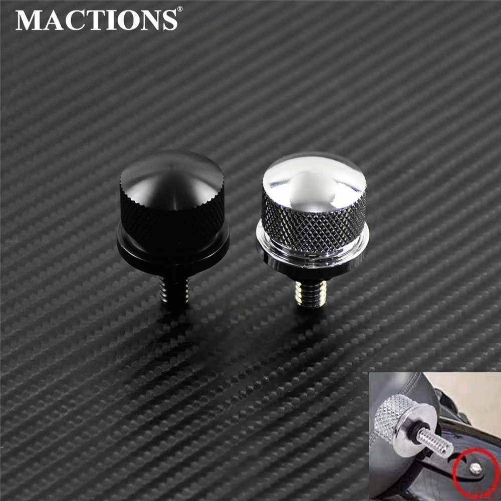 Street Glide 1996-2021 Dyna Softail Rear Fender Seat Bolt Screw Mount Nut Compatible for Most Harley Touring Fatbob Streetbob