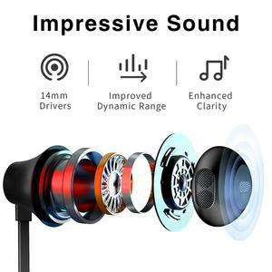 Image 3 - Picun X2S sans fil Bluetooth écouteur V5.0 étanche sport casque magnétique bandeau stéréo écouteurs avec micro pour iPhone Xiaomi