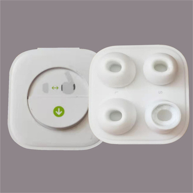 4Pcs Earphone eartips Cover Case  headset Eartips for AirPods Pro 2019 Earplugs Soft Ultra Thin Headset Accessories