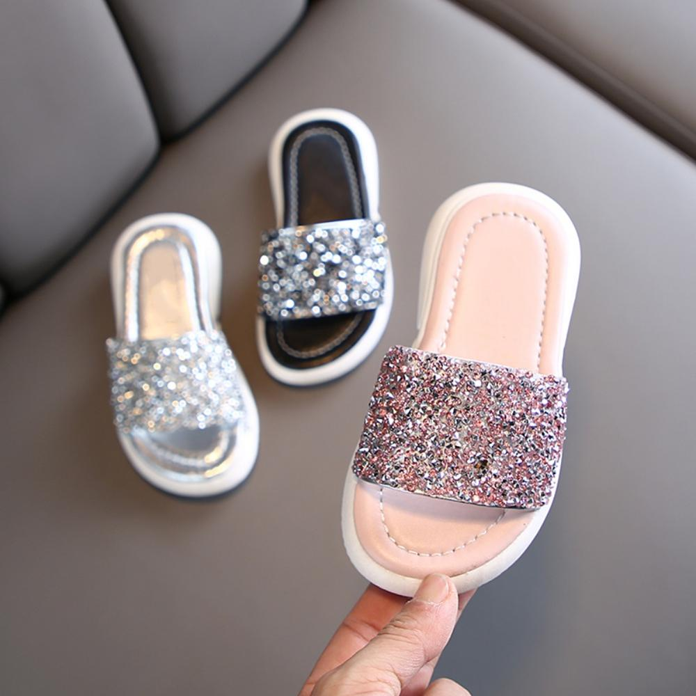 Summer Toddler Kids Fashion Sandals Shoes Infant Baby Girls Cute Leather Crib Slippers Utmost In Convenience