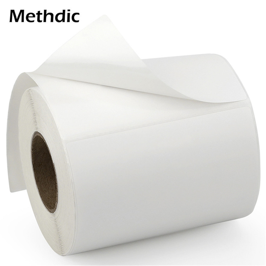 Methdic 250 Labels/roll Blank Address 4x6 Thermal Zebra Label 1 Roll