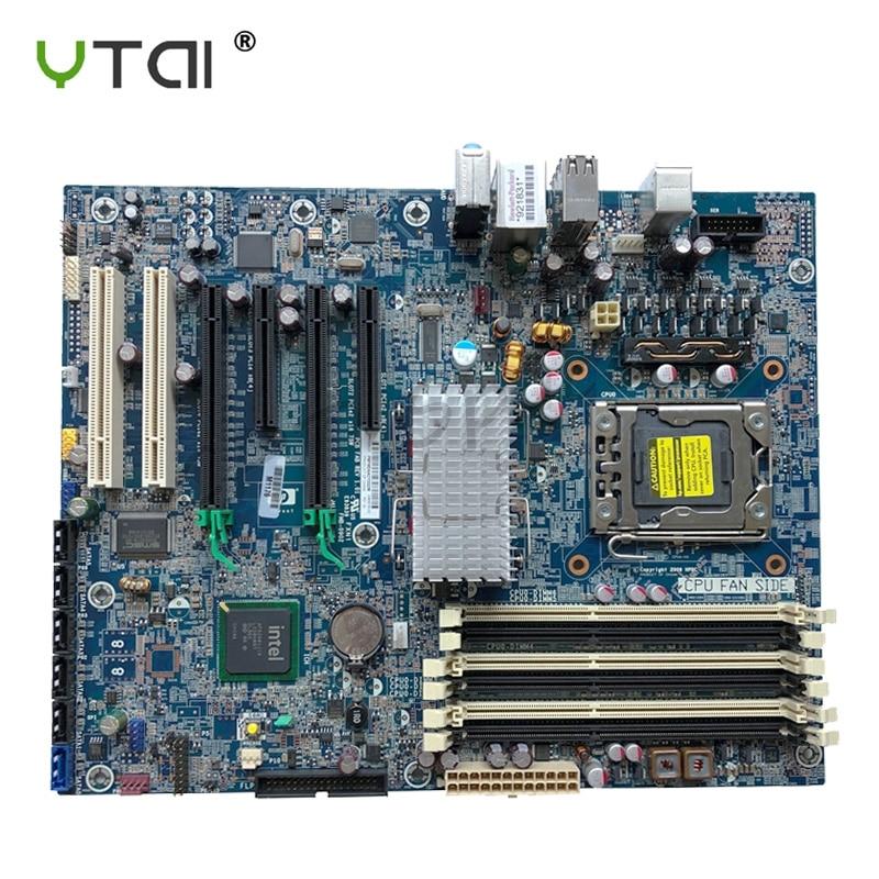 Pour HP Z400 poste de travail serveur bureau carte mère LGA1366 X58 586968-001 586766-002 100% testé intact