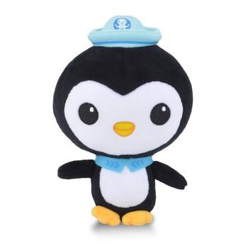 Original 13cm/19cm Octonauts Plush Toys Barnacles Peso Kwazii Tweak Animal Stuffed Party Birthday Gift Kid Christmas Girl Toy 3