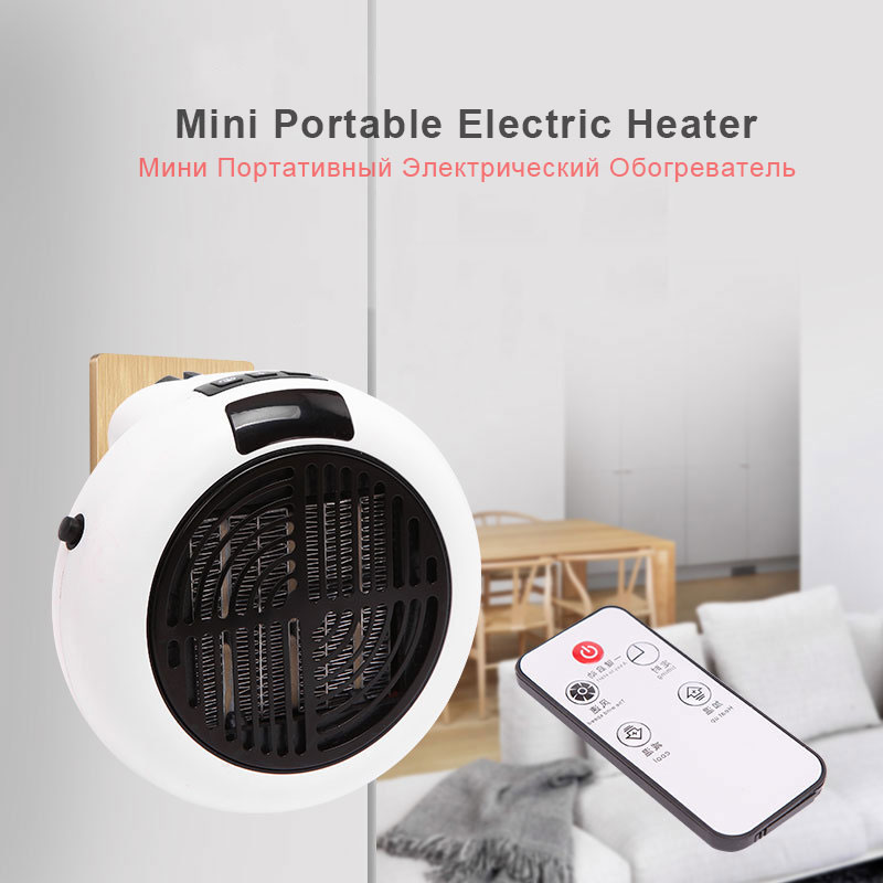 Mini Portable Electric Heater 900w 220v Desktop Heating Warm Air Fan Home Office Wall Handy Air Heater Bathroom Radiator Warmer