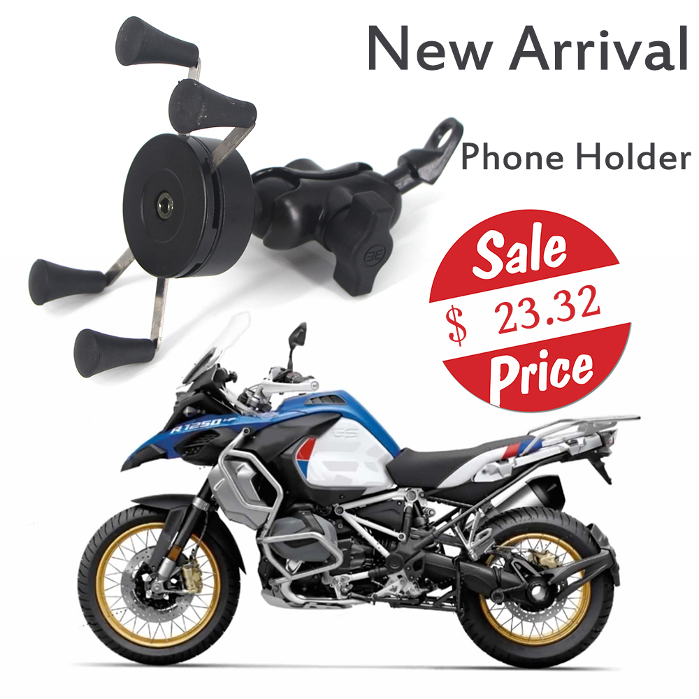 Для BMW R1250GS ADV LC 2019, мотоциклетный держатель для телефона, монтажный кронштейн, вращение на 360 °, регулируемый, для iPhone 11 Pro Max