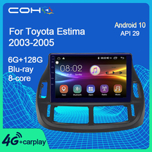COHO per Toyota Estima 2003-2005 Radio Gps Navigation Car Multimedia Player Android 10.0 Octa Core 6 128G
