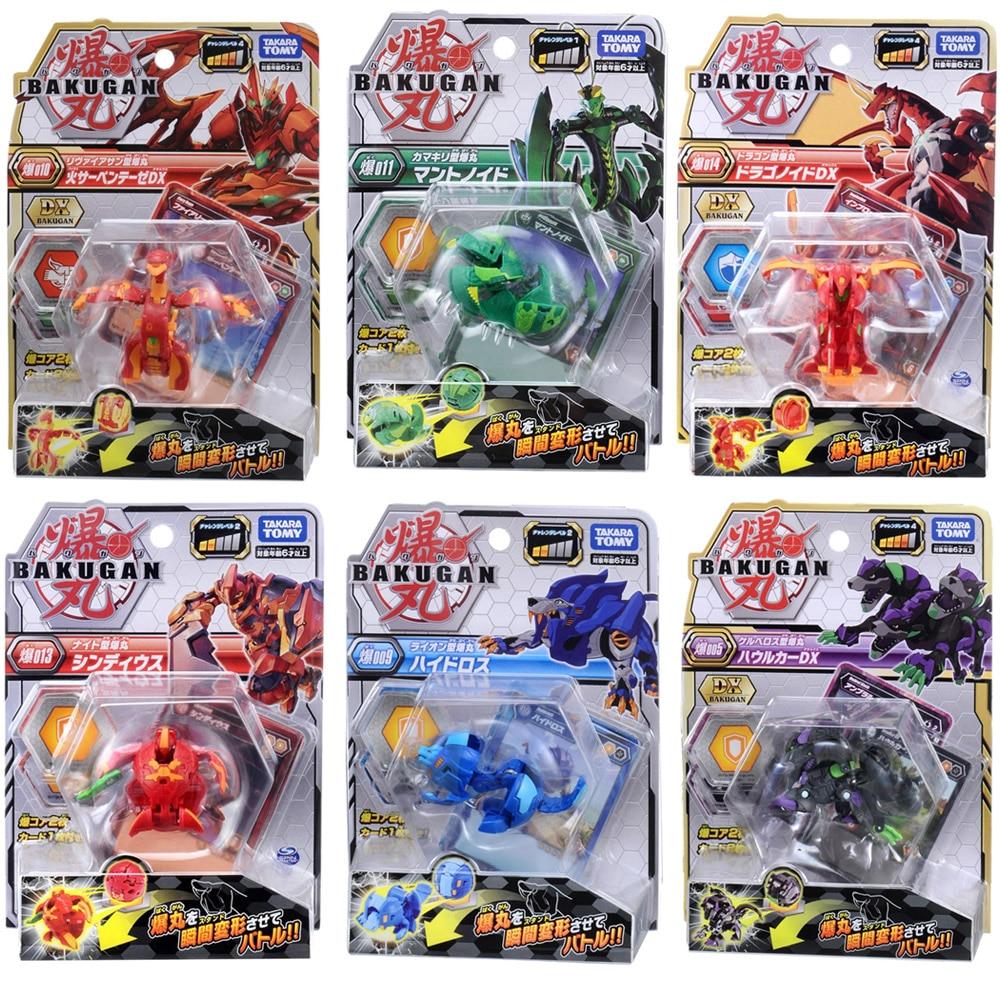 Takara Tomy Transformation Ball Battle Planet Toys Dragonid Bakugan Brawler Starter Pack Spining Top Game Toys For Children