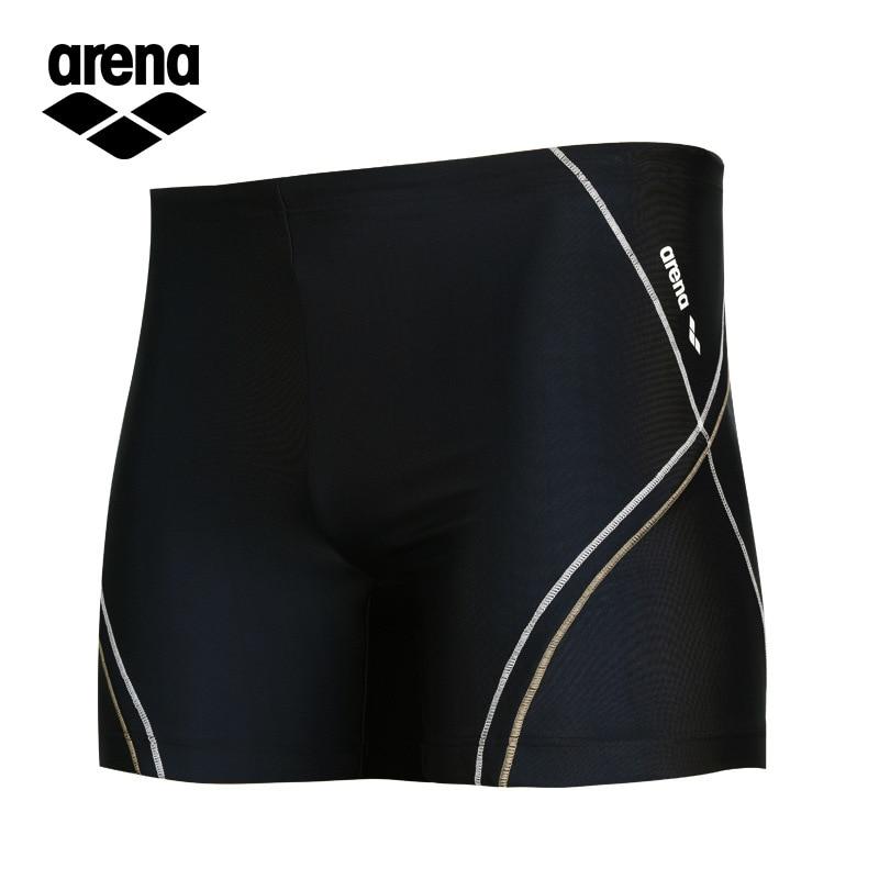 Men Sports Swimming Trunks Fashion Lishui Fitness Boxer Quick-Dry Durable Swimming Shorts Men's
