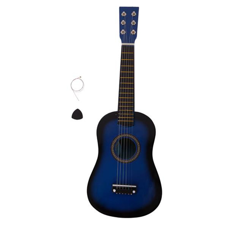 23 quot acoustic guitar solid Pick Strings Acoustic Folk Guitar for Beginners in Guitar from Sports amp Entertainment