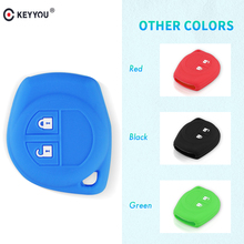KEYYOU Remote Silicone Key Cover For suzuki swift sport SX4 Grand Vitara liana Car Key Case Protector car accessories