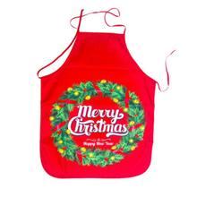 Рождественские украшения ткань принт снеговика новогодний фартук
